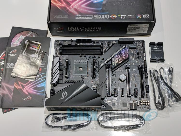 ASUS ROG STRIX X470-F GAMING Motherboard Review