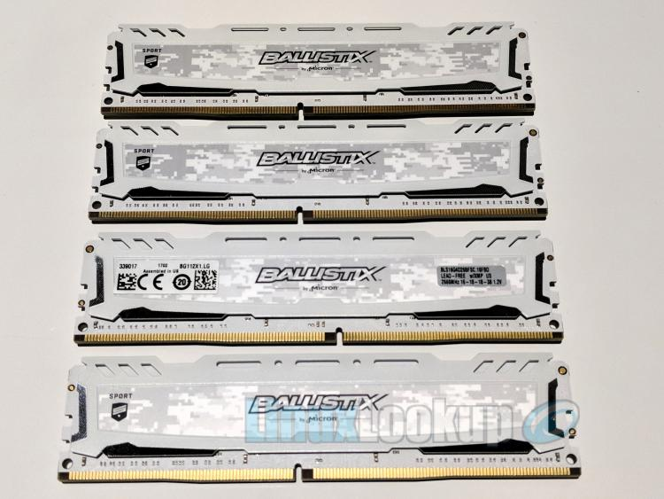 Ballistix Sport LT White 64GB DDR4 Memory Kit Review