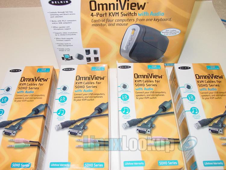 Belkin OmniView SOHO Series 4-Port KVM Switch Review