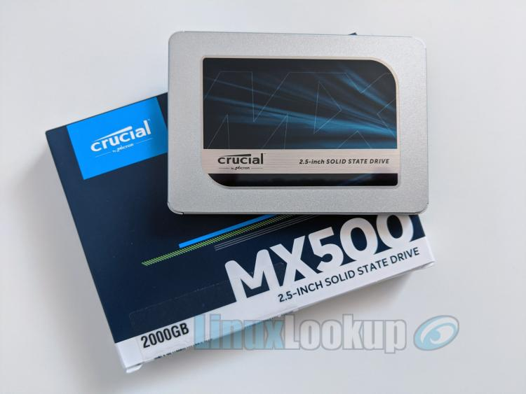 Crucial MX500 2TB SSD Review
