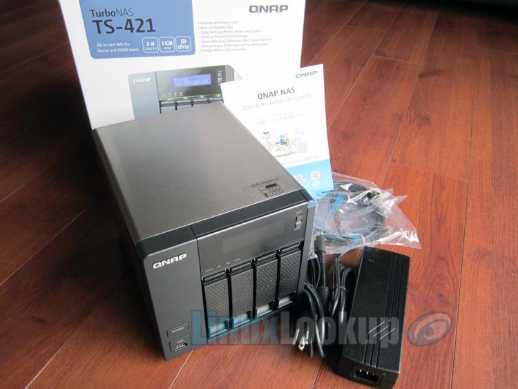 QNAP TS-421 NAS Review   Linuxlookup