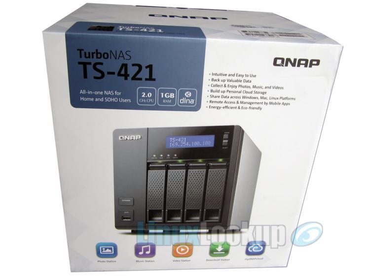 QNAP TS-421 NAS Review | Linuxlookup