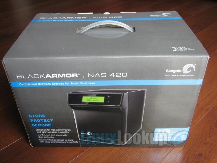 Seagate BlackArmor NAS 420 Review