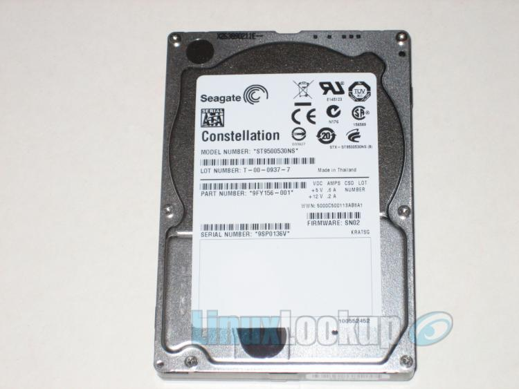 Seagate Constellation Hard Drive Review