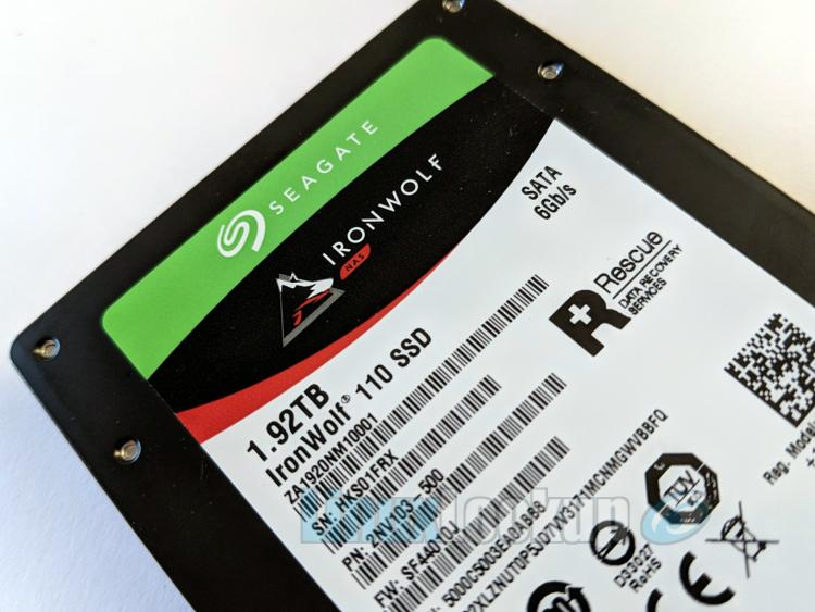 Seagate Ironwolf 110 SSD for NAS Review