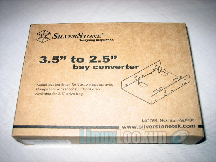 SilverStone 3.5 to 2.5 Bay Converter Review