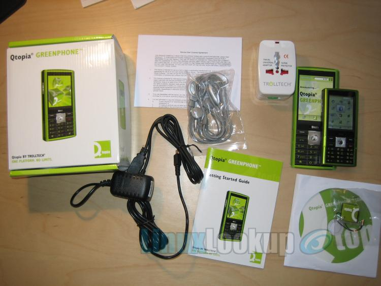 Trolltech Qtopia Greenphone and SDK Review
