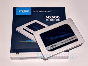 Crucial MX500 1TB SSD Review