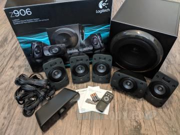 Logitech Z906 5.1 Surround Sound Speaker System Review