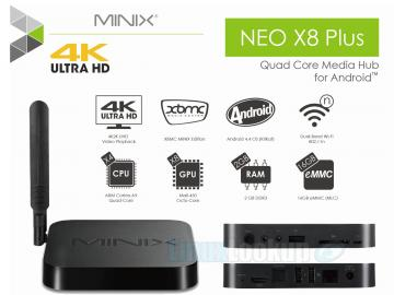 MINIX NEO X8 Plus Media Hub Review