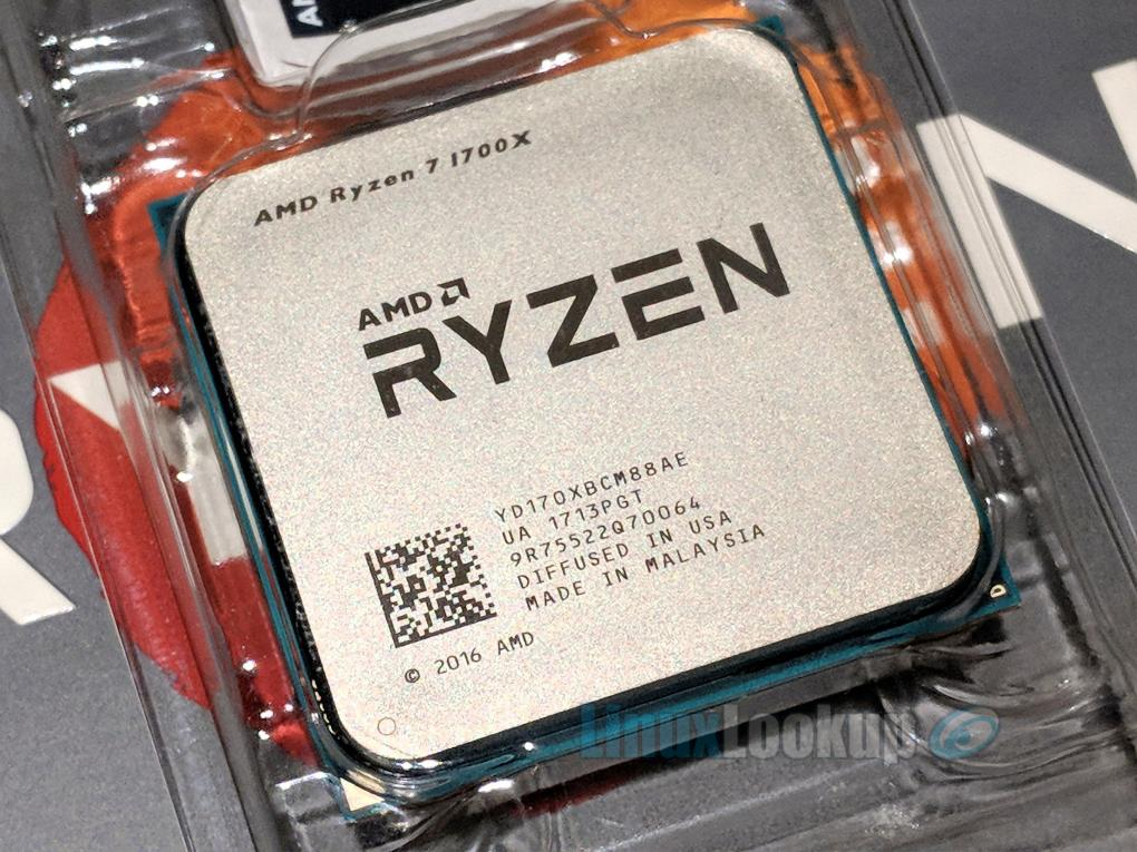 AMD Ryzen 7 1700X Linux Benchmarks Review | Linuxlookup