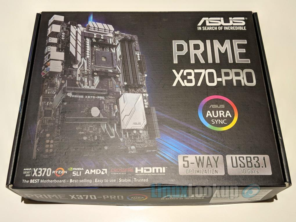 ASUS PRIME X370-PRO Motherboard Review | Linuxlookup