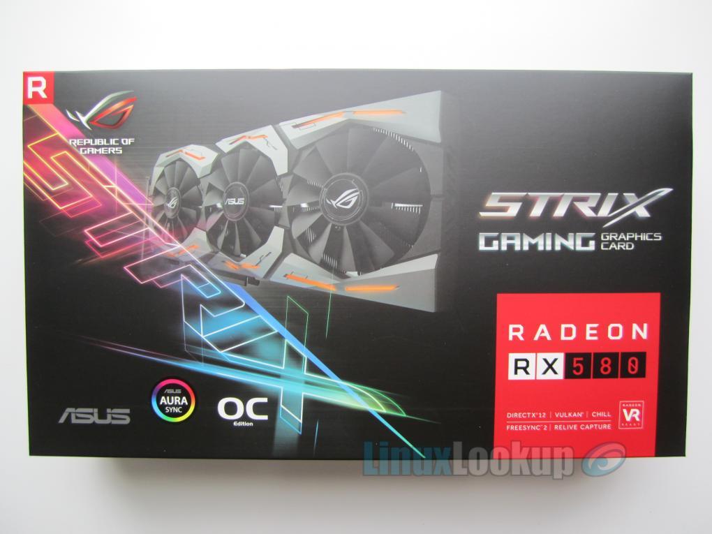 ASUS ROG Strix Radeon RX580 OC Edition Performance on Ubuntu Linux