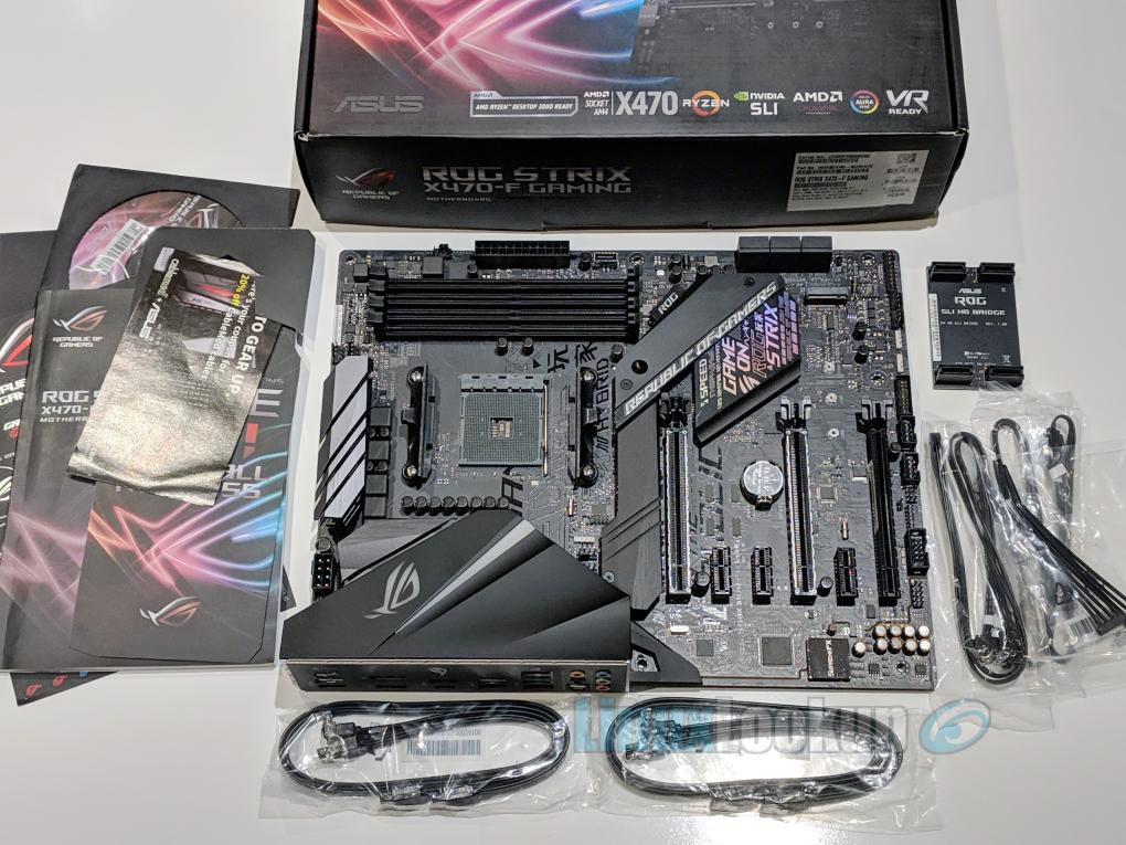 ASUS ROG STRIX X470-F GAMING Motherboard Review | Linuxlookup