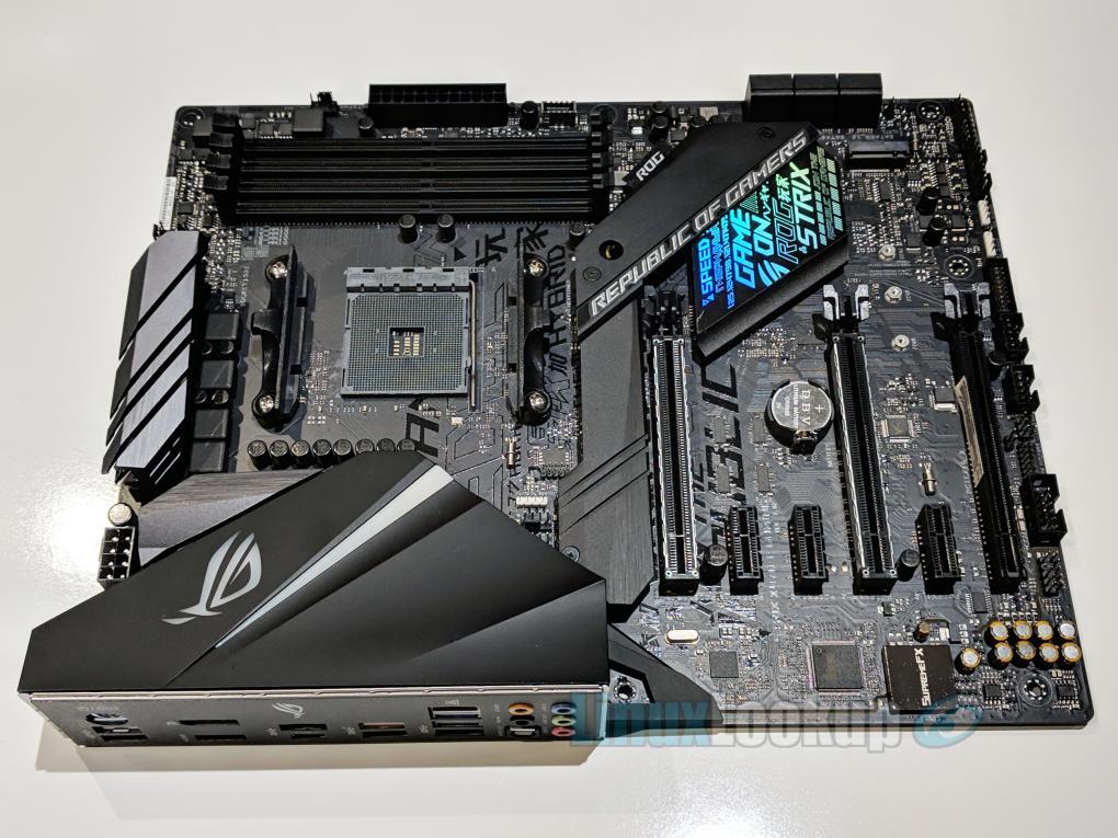 ASUS ROG STRIX X470-F GAMING Motherboard Review | Linuxlookup