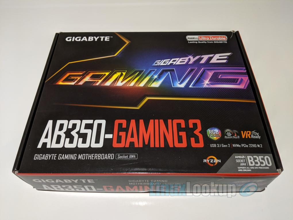 GIGABYTE GA-AB350-Gaming-3 Motherboard Review | Linuxlookup