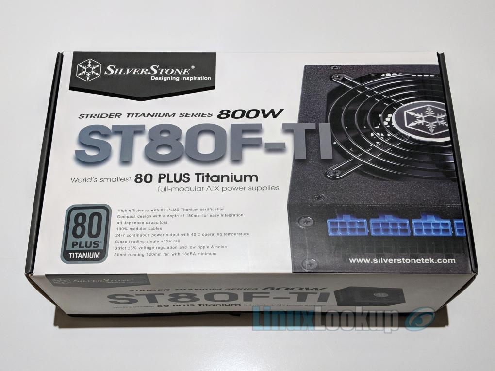 SilverStone Strider Titanium ST80F-TI Power Supply Review